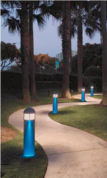 Luminarias decorativas para exteriores dise o con luz for Luminarias para jardines exteriores
