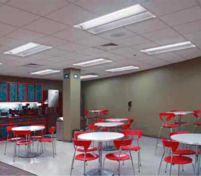 Iluminaci n de interiores con l mparas fluorescentes - Iluminacion de interiores ...